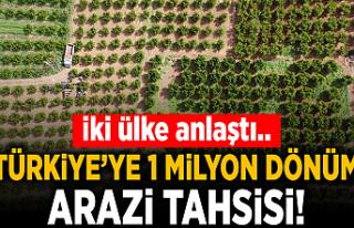 Sudan'dan Türkiye'ye 1 milyon dönüm tarım...