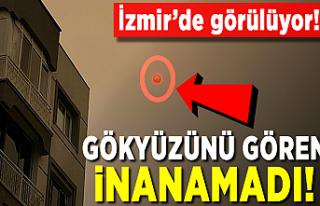 Yangınların dumanı İzmir'de görülüyor!