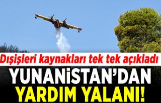 Yunanistan'dan Türkiye'ye yardım yalanı!...
