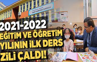 2021-2022 EĞİTİM VE ÖĞRETİM YILININ İLK DERS...