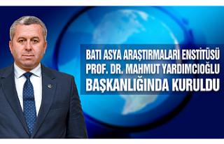 Batı Asya Araştırmaları Enstitüsü Prof. Dr....