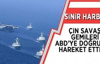 Çin'in 4 savaş gemisi, ABD'nin Alaska...
