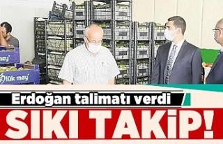 Erdoğan talimat verdi! Sıkı takip!