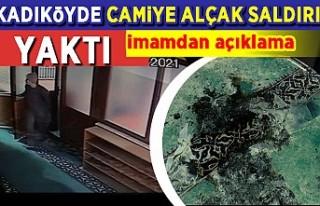 Kadıköy'deki Faikpaşa Camii'ne alçak...