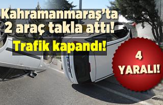 SON DAKİKA! Kahramanmaraş'ta peş peşe kaza...