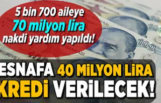 KOSGEB Bozkurt'ta esnafa 40 milyon lira kredi...