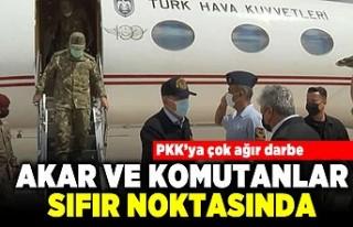 PKK'ya çok ağır darbe! Akar ve komutanlar...