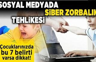 Sosyal medyada siber zorbalık tehlikesi! Çocuklarınızda...