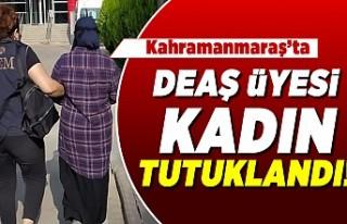 Kahramanmaraş'ta DEAŞ üyesi kadın tutuklandı!