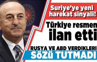 Suriye'ye yeni harekat sinyali! Türkiye resmen...