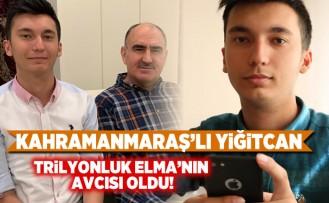 Kahramanmaraş'lı Yiğitcan Trilyonluk Elma'nın Avcısı oldu!