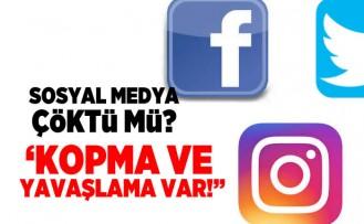 Sosyal medya çöktümü?