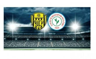 Ankaragücü-Çaykur Rizespor maçı ne zaman? Saat kaçta? Hangi kanalda? canlı izle ücretsiz izle