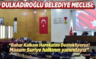 Dulkadiroğlu Belediye Meclisi açıklamalarda bulundu!