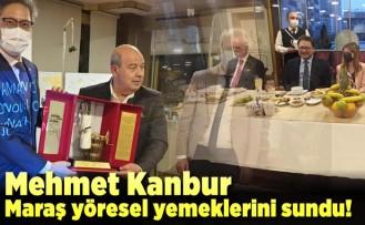 Mehmet Kanbur maraş yöresel yemeklerini sundu!
