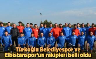 Türkoğlu Belediyespor ve Elbistanspor'un rakipleri belli oldu!