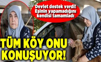 Gülçin Sakaroğlu'na devlet destek verdi! Eşinin yapamadığını kendisi tamamladı
