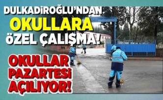 Dulkadiroğlu'ndan okullara özel çalışma!