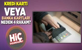 Kredi kartı ve ATM'ler günlük yaşamımızın vazgeçilmez bir parçası haline geldi. Peki kartlarımızın şifreleri neden genellikle 4 haneli bunu hiç düşündünüz mü?