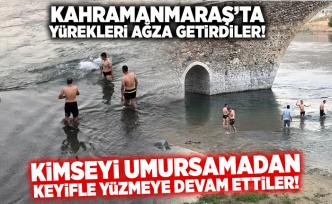 Kahramanmaraş'ta yürekleri ağza getiren görüntüler!