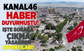 Kanal46 Haber duyurmuştu! Cumhurbaşkanı Erdoğan sokağa çıkma yasağının ayrıntılarını açıkladı!