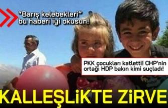 """""""Barış kelebekleri"""" bu haberi iyi okusun! PKK çocukları katletti! CHP'nin ortağı HDP bakın kimi suçladı..."""