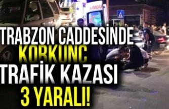 SON Dakika!!! Kahramanmaraş Trabzon caddesinde korkunç trafik kazası...