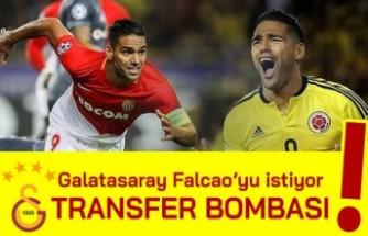 Transfer bombası! Galatasaray Falcao'yu istiyor...