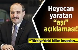"""Heyecan yaratan """"aşı"""" açıklaması! """"Türkiye deki bilim insanları..."""""""