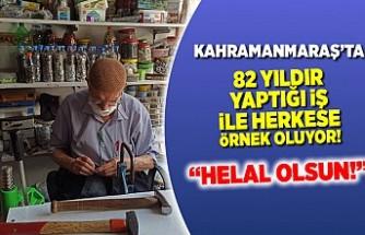 Kahramanmaraş'ta yaptığı iş ile herkese örnek oluyor!