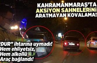 Kahramanmaraş'ta aksiyon filmlerini aratmayan kovalama! Polisten kaçamadılar...