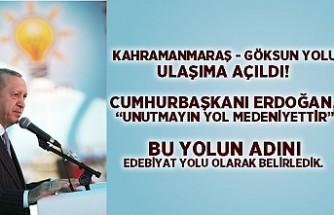 """Cumhurbaşkanı Erdoğan, """"Unutmayın yol medeniyettir"""""""