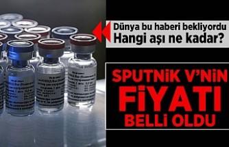 Dünya bu haberi bekliyordu! Hangi aşı ne kadar? Sputnik v'nin fiyatı belli oldu!