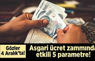 Gözler 4 Aralık'ta! Asgari ücret zammında etkili 5 parametre!