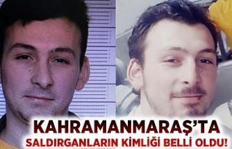 Kahramanmaraş'ta polisleri yaralayan saldırganların kimlikleri belli oldu!