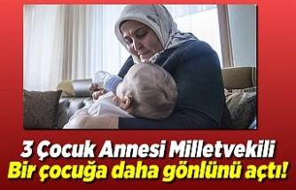 3 Çocuk annesi Kahramanmaraş Milletvekili, bir çocuğa daha gönlünü açtı!
