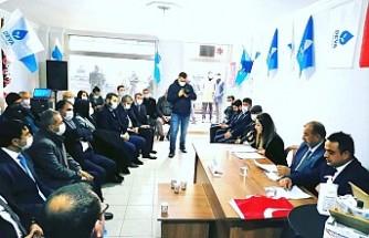 Deva Partisi Kahramanmaraş'ta İlçe Kongrelerine Devam Ediyor Türkoğlu İlçe Kongresi Yapıldı