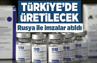 Türkiye'de üretilecek! Rusya ile imzalar atıldı