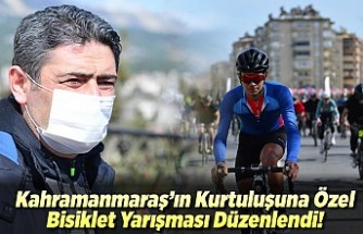 Kahramanmaraş'ta bisiklet yarışması düzenlendi!