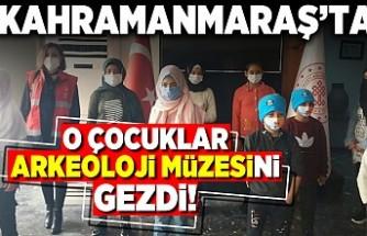 Kahramanmaraş'ta O çocuklar Arkeoloji müzesini gezdi!
