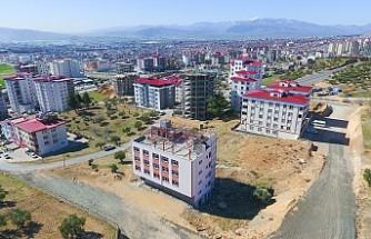 Ortaöğretim kız öğrenci yurdu inşaatı hız kazandı