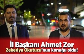 "SP İl Başkanı Ahmet Zor, ""Bizim ittifakımızın adı seçim ittifakı değil, geçim ittifakıdır"""