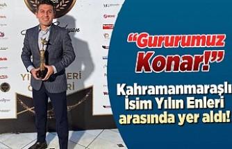 Kahramanmaraşlı Muhabir'in gurur fotoğrafı!