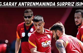 Galatasaray antrenmanında sürpriz isim! Fatih Terim onay verdi, çalışmalara başladı