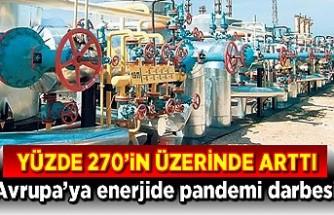 Avrupa enerjisine pandemi darbesi