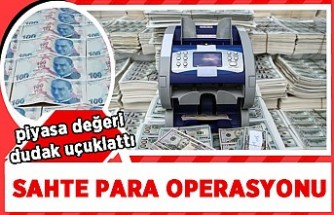 İstanbul'da sahte para operasyonu! 6 aylık takip sonrası harekete geçildi