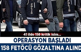 İzmir merkezli dev FETÖ operasyonu 158 gözaltı kararı