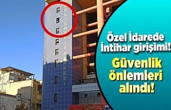 Kahramanmaraş'ta intihar girişimi!