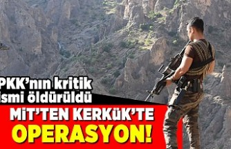PKK'nın kritik ismi öldürüldü! MİT'ten kerkükte operasyon!