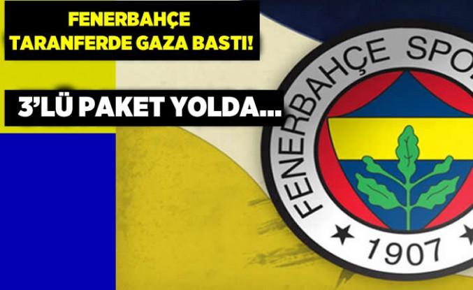 Fenerbahçe transferde gaza bastı! 3'lü paket yolda...